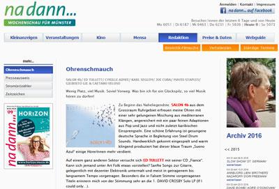 Nadann Münster Ausgabe 09/16