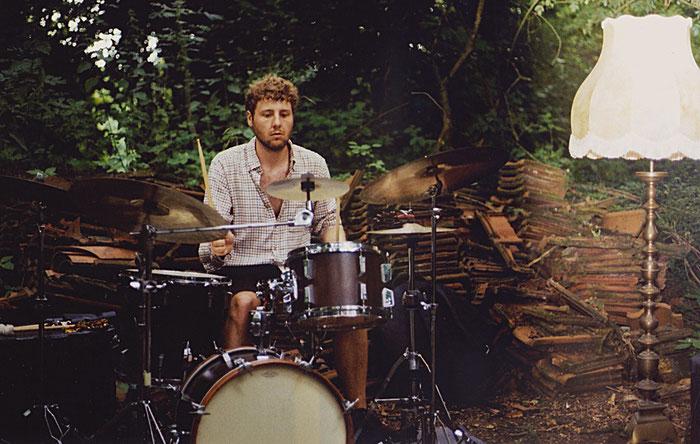 Schlagzeuger Philipp Staege